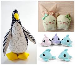 10 free softie patterns to sew for sew a softie day whileshenaps