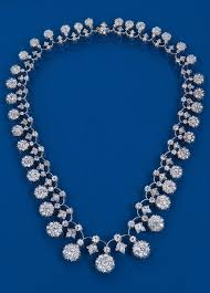 diamond necklace collection images Necklace collection a victorian diamond necklace mounted with jpg
