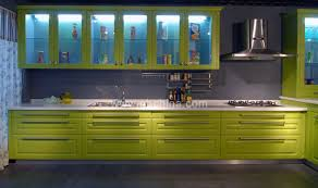 newest kitchen designs green lacquer kitchen cabinets kc 1050