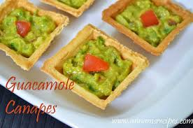 canapes fruit guacamole canapes avocado butter fruit annam s recipes