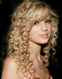 casual long naturally curly hairstyles with side bangs cute