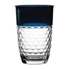 Waterford Vase Patterns Half U0026 Half Teal Vase Waterford Crystal
