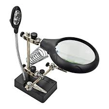 workbench magnifying glass with light online shop aiyima pcb holder with light and magnifying glass main