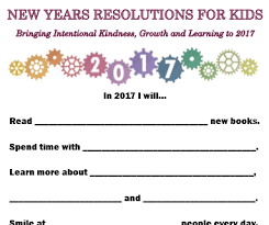 new years resolution books new years resolutions for kids bringing intentional kindness