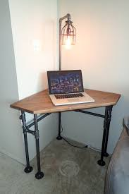 Homemade Wood Computer Desk by Industrial Pipe Corner Desk Pub Height Or Di Industrialdesignsbyb