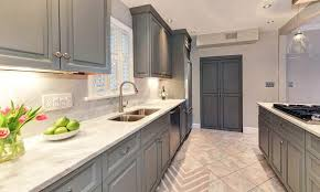 gray kitchen cabinets with white marble countertops gray kitchen cabinets design ideas designing idea