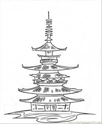 temple coloring page japan 2 coloring pages japan coloring page vive le color japan