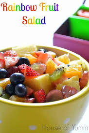 send fruit rainbow fruit salad house of yumm