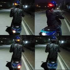 Motorcycle Helmet Lights Wireless Motorcycle Helmet Brake Turn Signal Led Light Us 16 99