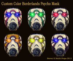 bandit mask halloween custom color borderlands psycho mask by sksprops deviantart com on