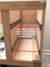 Bathroom Drawer Cabinet Build A Diy Bathroom Vanity Part 4 The Drawers