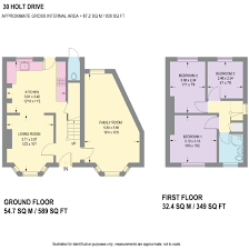 Floor 54 by 30 Holt Drive Matlock Derbyshire De4 3 Bed Detached House