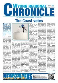 Draft Central Coast Regional Transport Strategy Wyong Regional Chronicle By Central Coast Newspapers Issuu