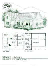 ranch log home floor plans log home floor plans cabin kits appalachian homes magnificent