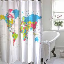 map shower curtain europe map shower curtain magical thinking world map shower curtain design waterproof polyester fabric 180x180cm bath shower curtains for bathroom with 12hooks