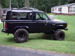 Fords New Bronco Ford Bronco Ii Price Modifications Pictures Moibibiki