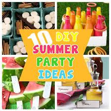 Diy Summer Decorations For Home Diy Home Sweet Home 10 Diy Summer Party Ideas