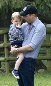 prince william and kate middleton go for family day out with