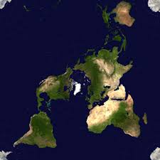Map Projection If An Alien Species Had Mapped Our World The Peirce Quincuncial