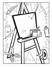 art u0026 craft coloring pages u2013 birthday printable