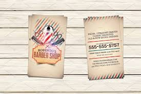barber shop business card template business card templates