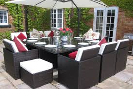 Bali Rattan Garden Furniture by Garden Furniture 10 Seater Interior Design