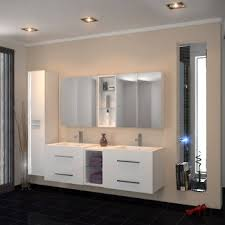 double sink wall hung vanity unit wall hung vanity unit sale on at bathroom city uk
