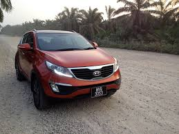 kia sportage riding on impressive kensomuse