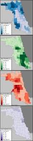 Chicago Ward Map 1910 by Population Distribution By Race And Ethnicity In Chicago Chicago