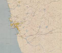 World Map 1950 Historical Maps Of San Diego