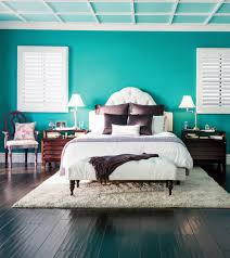 Teal And Purple Bedroom by Opposites Attract Pretty Purple Accents With Bold Bright Teal
