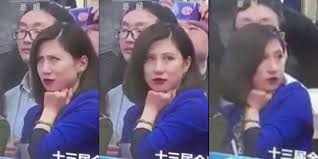 Rolls Eyes Meme - china bans all mention of eye rolling reporter who became a meme