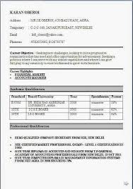 resume format for bcom freshers download in ms word 2007 resume format for freshers bcom listmachinepro com