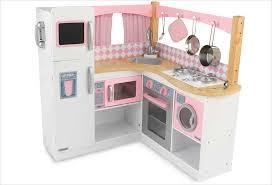 cuisine jouet cuisine d angle en bois jouet cuisine kidkraft et blanche