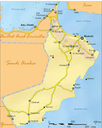 map of oman sinbad s oman pocket guide travel to oman map of oman