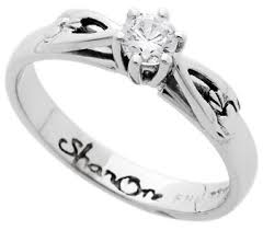 claddagh engagement ring m1s4 claddagh engagement ring 14kw 25ct diamond h color