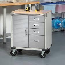mobile tool chest on wheels garage organizer drawers storage