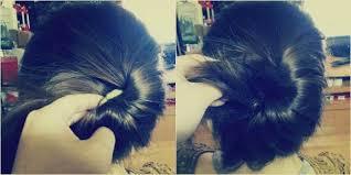 tutorial sirkam rambut panjang tanpa perlu berdandan lama lama 5 gaya cepol sederhana ini bikin