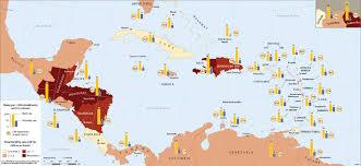 Map Of Caribbean by Caribbean Atlas
