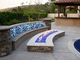 Fire Pit Glass Rocks by Fire Pit Glass Stones Fire Pit Ideas