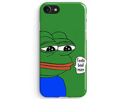Sad Meme Frog - pepe the frog etsy