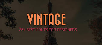 35 best free vintage and retro fonts for designers creativecrunk
