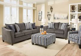 Simmons Upholstery Furniture Simmons Upholstery Albany Slate Sofa And Loveseat