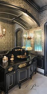 Black Bathrooms Ideas by 57 Best Powder Rooms Images On Pinterest Bathroom Ideas Home
