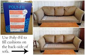Sofa Cushions Replacement by How To Restuff Fixed Sofa Cushions Centerfieldbar Com