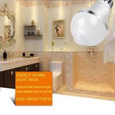 outdoor garage light bulbs aukora 9w motion activated led bulb e26 e27 motion sensor light