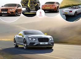 2017 bentley continental gt speed black edition caricos com
