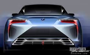 lexus lf lc blue photos lexus lf lc concept sketches