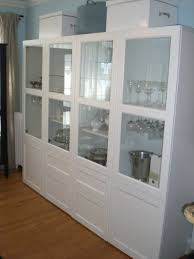 Small Bookcases With Glass Doors Enchanting Furniture Besta Ikea White Creative Bookshelves With