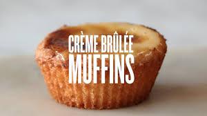 crème brûlée muffins alan disavia youtube